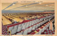 spo004324 - Old Vintage Bowling Postcard Post Card