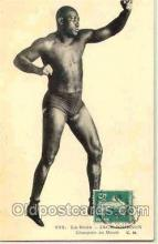 spo005006 - Jack Johnson Boxing Postcard Postcards
