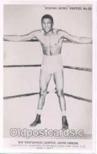 spo005031 - Bob Montgomery Boxing Postcard Postcards