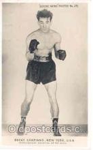 spo005040 - Rocky Graziano Boxing Postcard Postcards