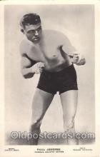 spo005057 - Paul Journee, Boxing Postcard Postcards