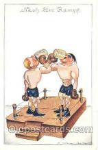spo005215 - Boxing Postcard Postcards