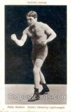 spo005251 - Boxing Series Matty Baldwin Postcard Postcards