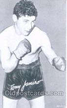 spo005394 - Tony Jamiro Exhibit card non postcard backing