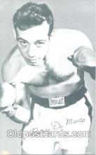 spo005410 - Paddy De Marco Boxing exhibit non postcard postcards