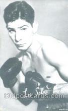 spo005442 - Lee Sala Boxing exhibit non postcard postcards