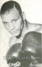 spo005451 - Harold Johnson Boxing exhibit non postcard postcards