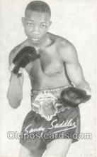 spo005452 - Sandy Saddler Boxing exhibit non postcard postcards