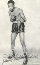 spo005454 - Johnny Bratton Boxing exhibit non postcard postcards