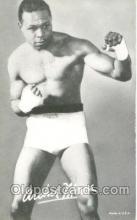 spo005464 - Archie Moore Boxing exhibit non postcard postcards