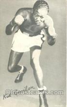 spo005469 - Kid Gavilan Boxing exhibit non postcard postcards
