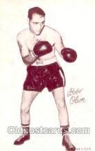 spo005497 - Bobo Olson Boxing exhibit non postcard postcards