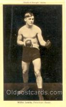 spo005504 - Willie Lewis Boxing