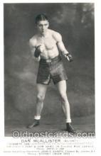 spo005607 - Dan McAllister Boxing Postcard Postcards