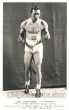 spo005611 - Len Chinnery Boxing Postcard Postcards
