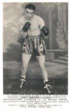 spo005613 - Jim Brady Boxing Non Postcard Backing Postcards