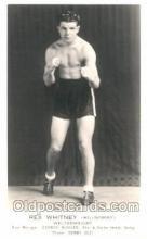spo005614 - Rex Whitney Boxing Postcard Postcards