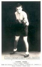 spo005618 - Sammy Shaw Boxing Postcard Postcards