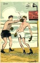 spo005683 - Boxing Postcard Post Cards Old Vintage Antique Postcard