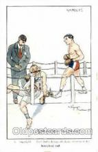 spo005686 - Jean Bernard Boxing Postcard Post Cards Old Vintage Antique Postcard