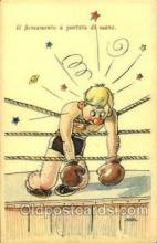spo005687 - Boxing Postcard Post Cards Old Vintage Antique Postcard