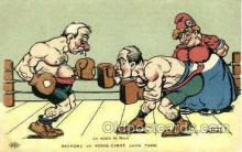 spo005697 - Nadau Boxing Postcard Post Cards Old Vintage Antique Postcard