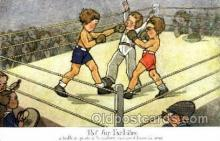 spo005699 - Boxing Postcard Post Cards Old Vintage Antique Postcard