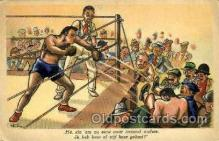 spo005708 - Steew Boxing Postcard Post Cards Old Vintage Antique Postcard