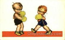 spo005710 - Boxing Postcard Post Cards Old Vintage Antique Postcard