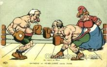 spo005711 - Nadau Boxing Postcard Post Cards Old Vintage Antique Postcard