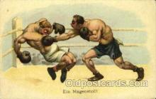 spo005719 - Boxing Postcard Post Cards Old Vintage Antique Postcard