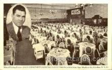 spo005720 - Jack Dempsey's Broadway Restaurant Boxing Postcard Post Cards Old Vintage Antique Postcard