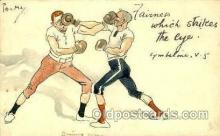spo005722 - Boxing Postcard Post Cards Old Vintage Antique Postcard