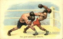 spo005723 - Boxing Postcard Post Cards Old Vintage Antique Postcard