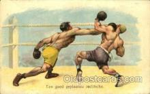 spo005724 - Boxing Postcard Post Cards Old Vintage Antique Postcard