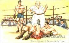 spo005726 - Serie No. 095 Boxing Postcard Post Cards Old Vintage Antique Postcard