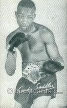 spo005828 - Sandy Saddler Boxing, Old Vintage Antique Postcard Post Cards