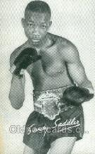 spo005831 - Sandy Saddler Boxing, Old Vintage Antique Postcard Post Cards