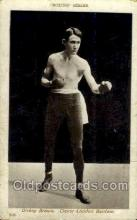 spo005854 - Dicksy Brown Boxing Series #2035, Old Vintage Antique Postcard Post Cards