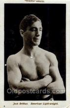 spo005866 - Jack Britton, USA Boxing Series # 8 Old Vintage Antique Postcard Post Cards