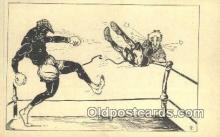 spo005874 - Boxing Postcard Post Card Old Vintage Antique