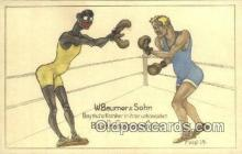 spo005880 - Boxing Postcard Post Card Old Vintage Antique