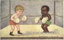 spo005885 - Boxing Postcard Post Card Old Vintage Antique