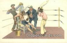 spo005887 - Boxing Postcard Post Card Old Vintage Antique