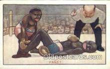 spo005890 - Boxing Postcard Post Card Old Vintage Antique