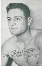 Rocky Castllam Boxing Postcard Post Card