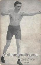 Ted Lewis Boxing Postcard Post Card