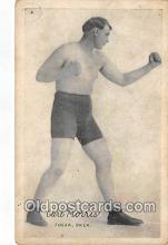 Carl Morris Boxing Postcard Post Card