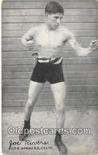 Joe Rivers Boxing Postcard Post Card