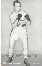 Charley Norkus Boxing Postcard Post Card